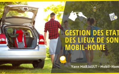 Etats des lieux pour les mobil home de propriétaires en camping.