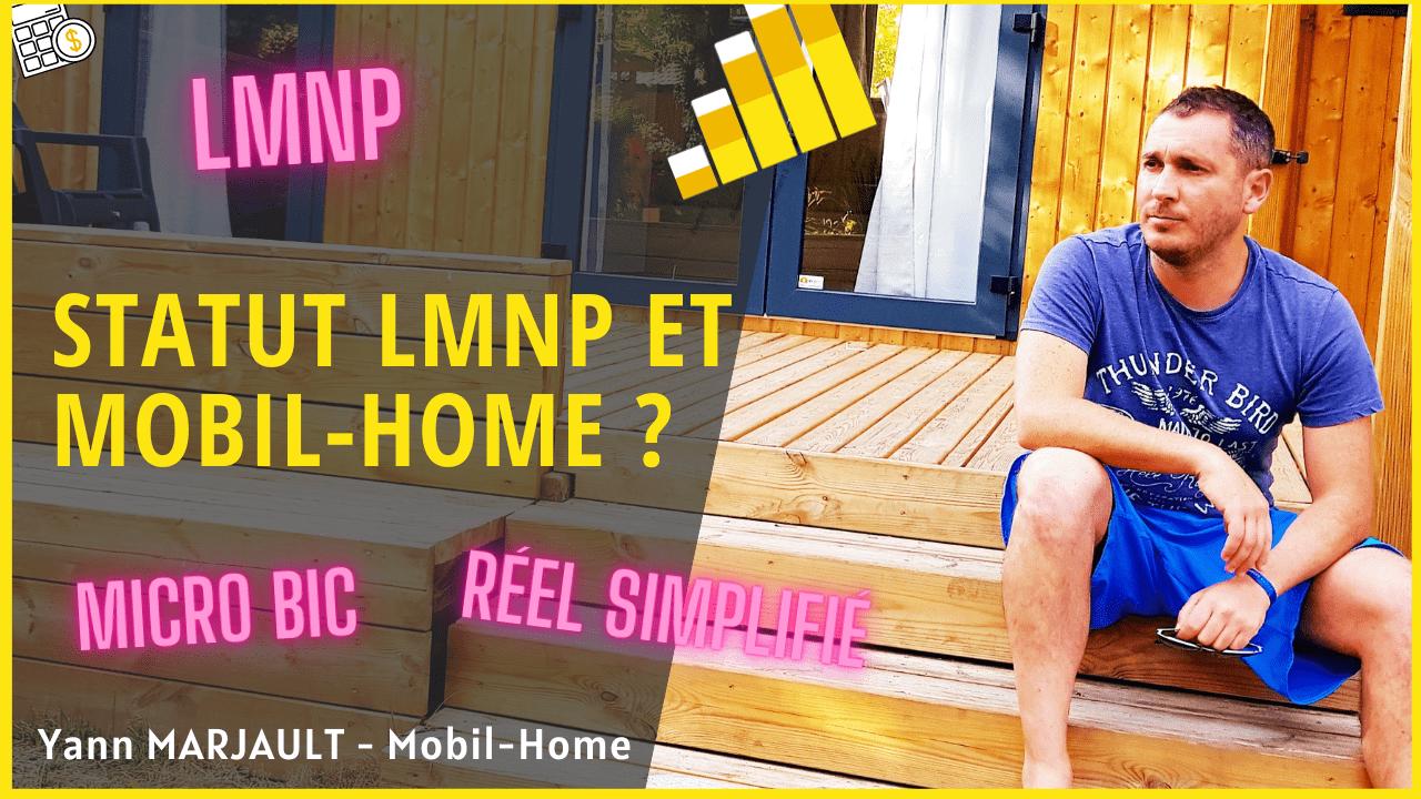 statut LMNP et mobil home